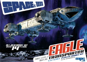 Space 1999 14 inch Eagle Transporter 1:72 Scale Model Kit